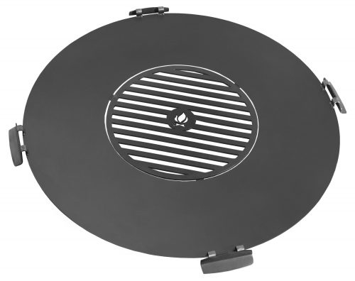 Grill Plate for Fire Bowl with Handles
