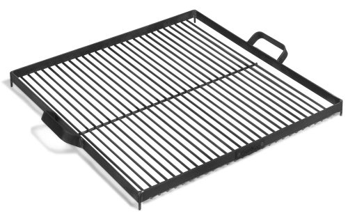 Square Natural Steel Grate